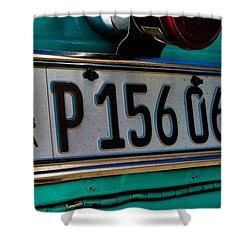 Cuban Car Art Shower Curtain