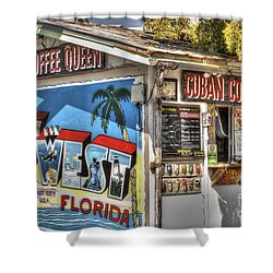 Cuban Coffee Queen Shower Curtain