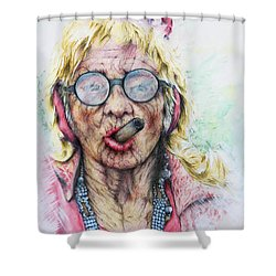 Cuban Greatgrandma Shower Curtain