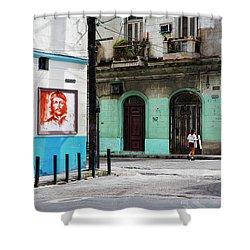 Cuban Icons Shower Curtain