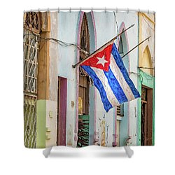 Cuban Pride Shower Curtain