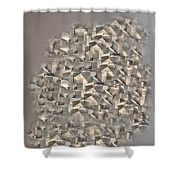 Cubism Shower Curtain