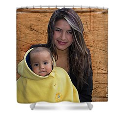 Cuenca Kids 878 Shower Curtain by Al Bourassa