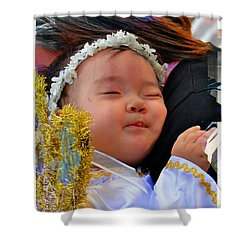 Cuenca Kids 879 Shower Curtain by Al Bourassa