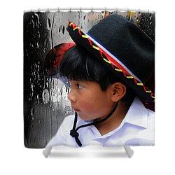 Cuenca Kids 880 Shower Curtain by Al Bourassa