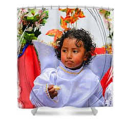 Cuenca Kids 882 Shower Curtain by Al Bourassa