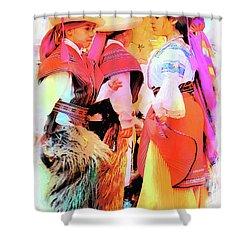 Cuenca Kids 884 Shower Curtain by Al Bourassa