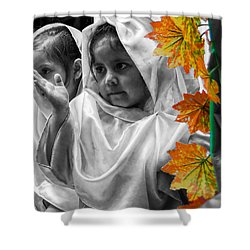 Cuenca Kids 885 Shower Curtain by Al Bourassa