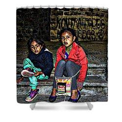 Cuenca Kids 953 Shower Curtain by Al Bourassa