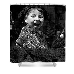 Cuenca Kids 954 Shower Curtain by Al Bourassa
