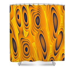 Shower Curtain featuring the digital art Cuiditheoiri by Jeff Iverson