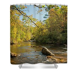 Cullasaja River Nc Shower Curtain