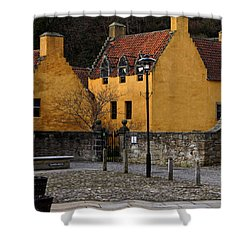 Shower Curtain featuring the photograph Culross by Jeremy Lavender Photography