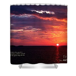 Cumc Solstice Shower Curtain