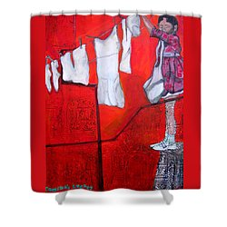 Cumina's Legacy Shower Curtain