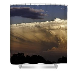 Cumulonimbus At Sunset Shower Curtain