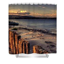 Cunnigar At Sunset Shower Curtain