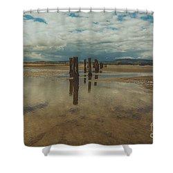 Cunnigar Beach 2 Shower Curtain