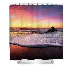 Cup Of Foam Shower Curtain