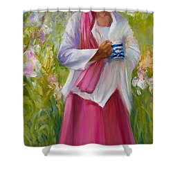 Cup Of Tea? Shower Curtain