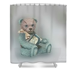 Shower Curtain featuring the photograph Cupcake Figurine by Linda Phelps