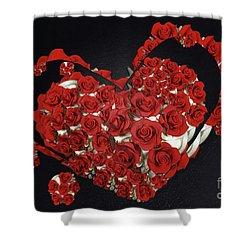 Cupcake Love Shower Curtain