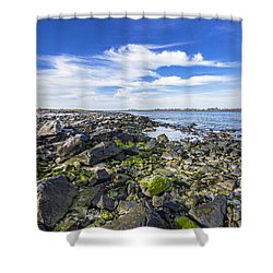 Cupsogue Bayside Shower Curtain