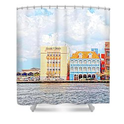 Curacao Awash Shower Curtain