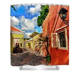 Curacao Colours Shower Curtain