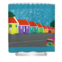 Curacao Dreams IIi Shower Curtain