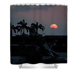 Curacao Sun Rise Shower Curtain
