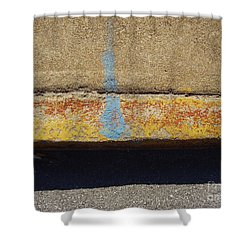 Curb Shower Curtain by Flavia Westerwelle