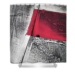 Shower Curtain featuring the photograph Curbs At The Canadian Formula 1 Grand Prix by Juergen Weiss