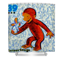 Curious George Shower Curtain