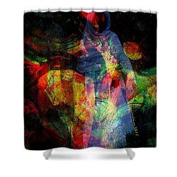 Curious Spirit Shower Curtain