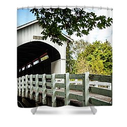 Currin Bridge Shower Curtain
