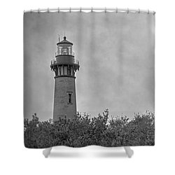 Shower Curtain featuring the photograph Currituck Lighthouse by Marion Johnson