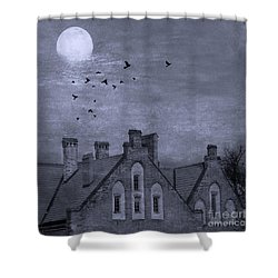 Shower Curtain featuring the photograph Curse Of Manor House by Juli Scalzi