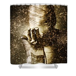 Curse Of The Mummy Shower Curtain