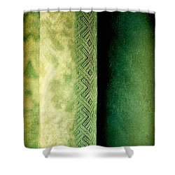 Shower Curtain featuring the photograph Curtain by Silvia Ganora