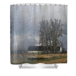 Curtains Of The Mind Shower Curtain