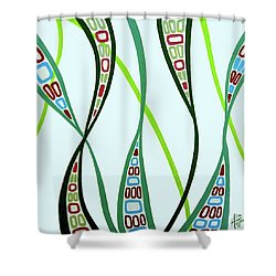 Curvaceous Shower Curtain