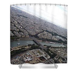 Curvature Shower Curtain
