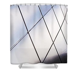 Curve Of The Cone Shower Curtain