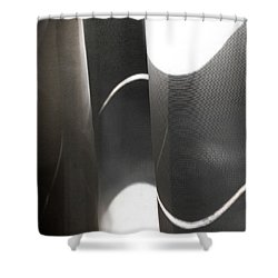 Curve Over Curve - Shower Curtain