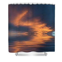 Curved Shower Curtain by Jerry McElroy