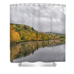 Cushman Lake  Shower Curtain