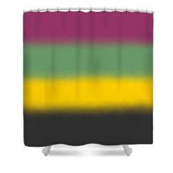 Flower Tones - Sq Block Shower Curtain