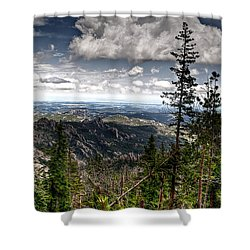 Custer State Park  Shower Curtain by Deborah Klubertanz