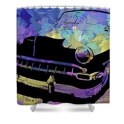 Custom 1954 Chevy Abs Shower Curtain